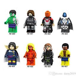 Super Heroes Moonstone Rogue Luke Cage Hulk Hiver Soldat Electrocutioner Enfants Cadeau Jouets PG8117 ? partir de fabricateur