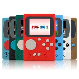 Лучший цветной жк-дисплей онлайн-198 Классические Игры Цвет Портативный Ретро Мини Карманный Игровой Игрок ЖК-Игровой Консоли Лучший Подарок Для Детей Детей