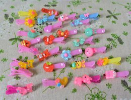 2019 multi-riegel-clip Transparente candy farbe, solide candy olor Haarspangen Cute Girl Cartoon Perlen Krawatten Kinder Haarnadel Zubehör 12 Stücke Mode günstig multi-riegel-clip
