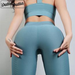 2019 pantyhose de los deportes Leggings deportivos Pantalones de yoga de compresión Legging sin costuras Pantalones deportivos Pantyhose Femme Sexy Entrenamiento Medias de yoga Pantalones de energía pantyhose de los deportes baratos
