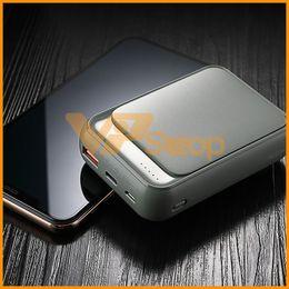 banco de energia menor Desconto 18W Tipo C P65 Power Bank 10000mAh QC 3.0 Mini bateria externa Display LED USB rápido carregamento rápido powerbank Para iPhone XS