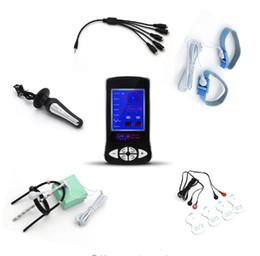 5/1 câble choc électrique plug anal massage kit de jouets médicaux, anneau de pénis électrique urètre son jouet mâle ? partir de fabricateur