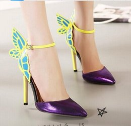 abiti da sposa da sogno Sconti 2019 new fashion Night club da donna Scarpe Tip-up con Dream Butterfly Scarpe col tacco alto con tacco alto e scarpe col tacco alto