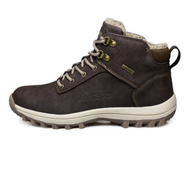 mens snow boots Sconti Lavoro Snow Boots New Winter delle donne degli uomini pattini impermeabili High Cotton Mens artificiale di arrampicata all'aperto scarpe antiscivolo escursionismo