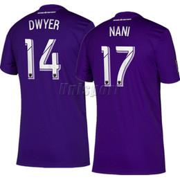 jersey orlando Rebajas Camiseta de fútbol de local lejos de la ciudad de Orlando 2019 Nani Dwyer Futbol Camisa MLS camiseta de fútbol Kit Maillot