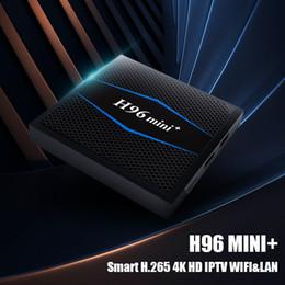 Argentina Android 7.1 Tv Box H96 Mini PLUS Ram 2G Rom 16G Amlogic S905W Quad Core Wifi internet Reproductor multimedia Suministro