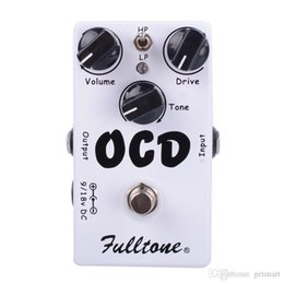CLONE OKB Obsesif Kompulsif Sürücü Overdrive / Bozulma Gitar Efekt Pedal İki mod seçimi (HI / LOW) Ve Gerçek Bypass Ücretsiz Kargo nereden