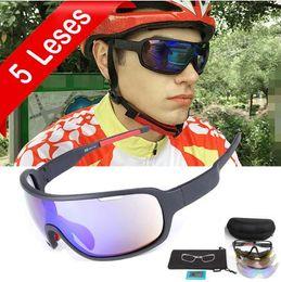 1b541e0688 2019 P.O.C 5 Lentes Ciclismo Gafas de sol polarizadas Hombres Mujeres UV400  Gafas deportivas Bicicleta de carretera Gafas ciclismo Para lunetas de  bicicleta