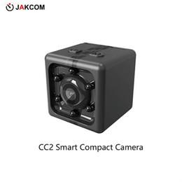 Reloj de tarjeta de video online-Venta caliente de la cámara compacta de JAKCOM CC2 en las cámaras video de la acción de los deportes como cámara gráfica del reloj del cuadrado sq20 del instax