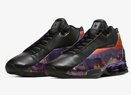 Badminton china online-BB4 China Hoop Träume kennzeichnet die Peking-Skyline PK Qualität China 2020 Herren Yakuda og Black Patent Training Sneakers Vince Carter Schuhe