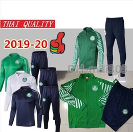 grüne sportkleidung Rabatt 2019 Palmeiras Fußballjacke Trainingsanzug Set 19/20 GREEN DUDO G.JESUS ALECSANDRO Palmeiras Fußballjacke Kit Sportbekleidung Anzug