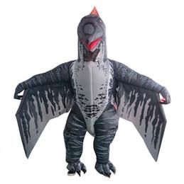Adulto T-REX Costume gonfiabile Festa di Natale Marrone Rosso Dinosauro Animale Tuta Mascotte di Halloween per le donne uomini spedizione gratuita da