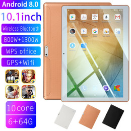 """Tablet sim online-10.1 """"Tablet PC 4G + 64G Android 8.0 Octa-Core Dual SIM Camera Wifi Phone Phablet"""