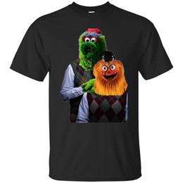 mascote amor Desconto Gritty Passo Irlandês Amor Philly Hockey Mascote Manga Curta T-Shirt Preta S-5XL Engraçado frete grátis Unisex tee