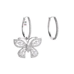 Mode coréenne créative grand papillon boucles d'oreilles déesse sexy asymétrique boucles d'oreilles super fée dames cheveux cheveux courts boucles d'oreilles de luxe ? partir de fabricateur