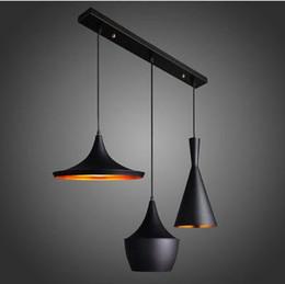 Yeni Tasarım Sarkıt Yendi Işık bakır gölge Avize Işıkları A + B + C Uzun Boylu Yağ ve Geniş AC110V 220 V cheap copper shade pendant light nereden bakır gölge asılı ışık tedarikçiler