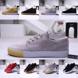 2020 tênis de zoom de basquete sapato skate 2020 ZOOM SB Casual Sports Shoes Stefan Janoski RM basquete Sneakers Triple S preto cinzento Homens Trainers Designer Plate-forme tênis de zoom de basquete barato