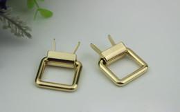 chaîne de sac d'or Promotion 20pcs / lot Or pâle 1.9 cm de diamètre intérieur crochet crochet paquet chaîne accessoires bagage matériel accessoires
