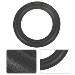 Accesorios de altavoz universal a prueba de polvo de repuesto Anillo de borde de goma de cuerno envolvente Piezas de woofer DIY Plegable de espuma duradera desde fabricantes