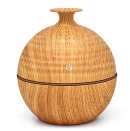 USB Diffuseur d'huile essentielle de parfum aromatique Humidifie 130ml Diffuseur d'huiles essentielles pour aromathérapie avec 7 couleurs de bois clair ? partir de fabricateur