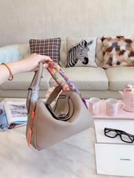 2019 divisori in pelle freeshipping borse di marca famoso designer di alta qualità borse a tracolla in pelle borsa spaccato delle donne borsa di lusso casual H Messenger Bag tote. divisori in pelle economici
