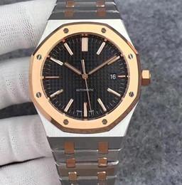 Acier bule en Ligne-montres de luxe pour le concepteur mens montres cadran Bule mouvement mécanique automatique 15400 316 montres-bracelets en acier inoxydable de luxe Montrésor