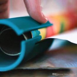 Küçük ELF Kesme ambalaj kağıdı Kolay ve eğlenceli ambalaj kağıdı Kesici Gösterilen Raf Makyaj Aracı Seti Damla Alışveriş nereden saç tokmak şeritleri tedarikçiler
