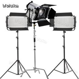 1100s + LED 200w kit de luz fotográfica película Spotlight Micro película filmación retrato entrevista plana conjunto de tres lámparas CD50 T01 desde fabricantes