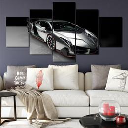 Nissan GTR 5 Teile Leinwand-Wandkunst Wohndeko Auto Fahrzeug Druck