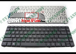 Novo teclado de notebook para HP Pavilion DV4-3000 DV4-4000 DV4-3xxx DV4-4xxxx sem moldura preta Versão dos EUA - 659298-001 de