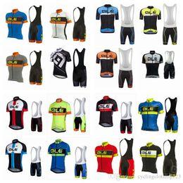 2019 équipe cycliste saxo bank maillot de cyclisme à manches courtes hommes de l'équipe pro ALE été hommes vêtus d'une chemise de vélo de montagne à séchage rapide, vêtements de cyclisme A2907