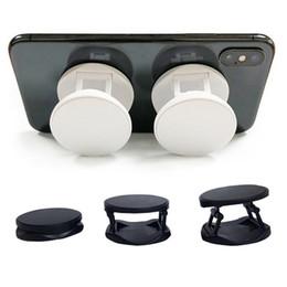 lg he4 baterias Desconto Celular titular Dedo Pop para sublimação em branco dobrável suporte aperto para celulares e tablets Alumínio Preto Branco