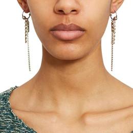 justine clenquet Earrings 19 Yeni Fransız Tasarımcı İlkbahar ve Yaz aylarında Renkli Kristal Bayan Küpe supplier french crystal nereden fransız kristali tedarikçiler