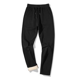 2019 lana di velo Pantaloni spessi invernali Faliza Mens Pantaloni in lana di cashmere Straight Men Micro Velour Pantaloni sportivi Uomo Camicie, Pantaloni casual118 sconti lana di velo