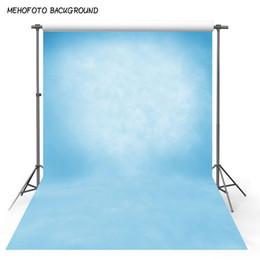 2019 fundos da fotografia da parede da cor MEHOFOTO Vinil Fino Fotografia Fundo Computador Impresso Azul Pure Color textura parede Fundos para Photo Studio fundos da fotografia da parede da cor barato