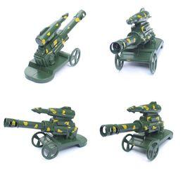 Modelos de guerra mundial on-line-Modelo de segunda guerra mundial militar foguete / lançamento de mísseis míssil arma de artilharia triciclo modelo de carro