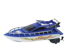 Mini modèles de bateaux en Ligne-Bateaux RC Navire Puissant Double Moteur Radio Télécommande Course Vitesse Électrique Jouet Modèle Navire Enfants Cadeau Bateaux RC Bateaux De Contrôle Véhicules jouets