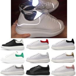 pacote plano Desconto Alexander MCQueen Nova Corrida Humana Moda Running sneaker Solar Pack - Capacitar e Inspirar Afro Creme Igualdade cauda Size5-11