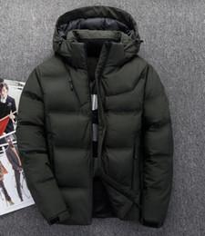 ecf3e2fdf7 2019 New arrived men down north jacket winter men warm coat jacket 90% duck down  hooded face jacket 915