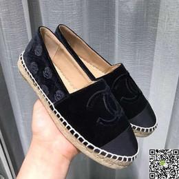 ac39ecb59 Verão Um Pedal de Fundo Plano Sapatos de Pano de Pequim Antigo Feminino  Aprender Prática Veículo Pescador Coreano Edição Slacker Único