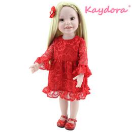 Poupée en vinyle 18 en Ligne-KAYDORA Reborn Baby Doll America Princesse lol Full Vinyl 18 pouces Réaliste Silicone Réaliste Bebe Charmant Nouveau Boneca surprise