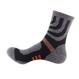 1550fe32229d2 New Running Trekking Socks Comfortable Breathable Socks Outdoor Men Male  Professional Sport Travel Hiking