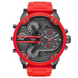 Luxury Sport militar Montres homens novos originais reloj grandes motores diesel Dial relógios relógio dz dz7331 DZ7312 DZ7315 DZ7333 DZ7311 de Fornecedores de origens de qualidade