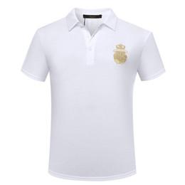2019 confort casual camisetas Taceshark Billionaire T Shirt hombre 2018 nuevo estilo verano confort Casual color sólido bordado alta tela envío gratis T190618 rebajas confort casual camisetas