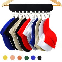 Rack pour porte en Ligne-Portable Cap Rack Closet Hanger Chaussettes De Stockage De Stockage Organisateur Porte Baseball Hat titulaire de stockage 2 styles MMA1580