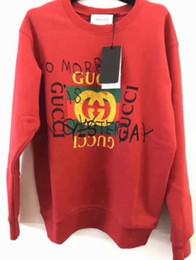 2020 sudadera italiana Italiana de lujo otoños diseñadors pintada para mujer Hoodies K3Guccis transpirable Ropa de deporte S - 3XL sudadera italiana baratos