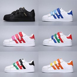 2020 Classic Youth Stan Smith Superstar Kids Girls Child Boys Baby Children Shoes Casual Sport kids sneakers Size 24 35