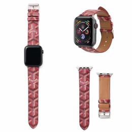 Роскошный ремешок iwatch ремешок модный кожаный Y шаблон цвета Для Apple, часы ремешок 44 мм 42 мм 40 мм 38 мм Часы Браслет Умный браслет от