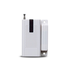 Sensori magnetici di allarme domestico online-433MHz Wireless Window Door Magnetic Detector Sistema di rilevamento allarmi di sicurezza domestica Wifi Smart Alarm Sensor Indoor Outdoor