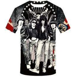 Sterne hemden hip hop kleidung online-Ramon Industries Neue TV-Serie T-Shirt Die Flash STAR Laboratories Männer Top Hip Hop Kleidung Kurzarm T-Shirt 2019